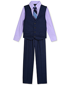 Nautica 4-Pc. Shirt, Vest, Pants & Tie Set, Toddler