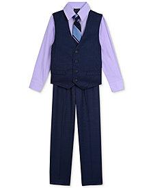 Nautica 4-Pc. Shirt, Vest, Pants & Tie Set, Toddler