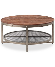 Beck Round Cocktail Table, Quick Ship