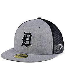 New Era Detroit Tigers New School Mesh 59FIFTY Fitted Cap