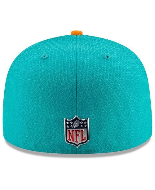 a848dc5e886 clearance new era miami dolphins sideline 59fifty cap sports fan shop by  310c9 78947
