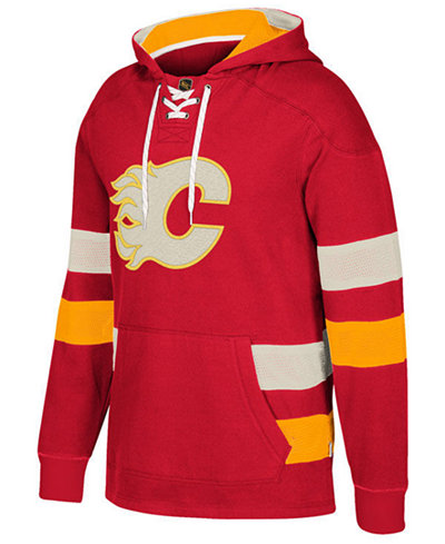 CCM Men's Calgary Flames Pullover Jersey Hoodie