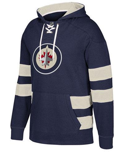 CCM Men's Winnipeg Jets Pullover Jersey Hoodie
