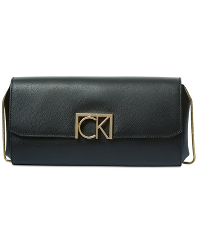Calvin Klein Kalina Mercury Small Clutch