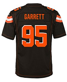 Myles Garrett Cleveland Browns Game Jersey, Big Boys (8-20)