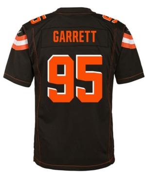 Nike Myles Garrett Cleveland Browns Game Jersey, Big Boys (8-20)