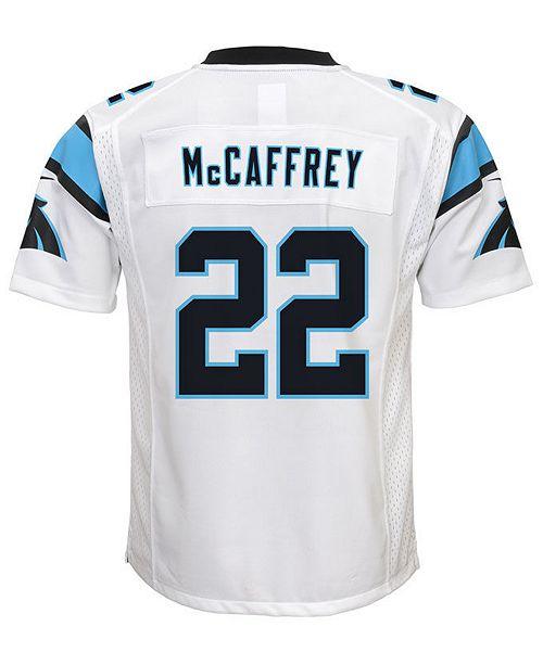 b27fd9701442e ... Nike Christian McCaffrey Carolina Panthers Game Jersey, Big Boys (8-20)  ...