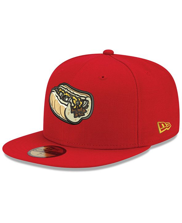 New Era Lehigh Valley IronPigs AC 59FIFTY Fitted Cap
