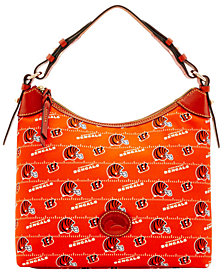 Dooney & Bourke Cincinnati Bengals Nylon Hobo