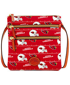 Dooney & Bourke Arizona Cardinals Nylon Triple Zip Crossbody