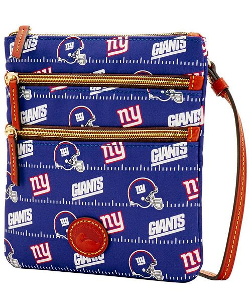 Dooney   Bourke New York Giants Nylon Triple Zip Crossbody   Reviews ...
