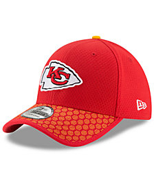 New Era Boys' Kansas City Chiefs 2017 Official Sideline 39THIRTY Cap