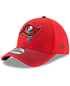 New Era Boys' Tampa Bay Buccaneers 2017 Official Sideline 39THIRTY Cap