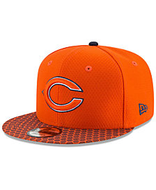 New Era Boys' Chicago Bears 2017 Official Sideline 9FIFTY Snapback Cap