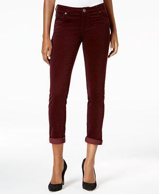 ec9c16deb92 Kut from the Kloth Catherine Corduroy Pants, Created for Macy's & Reviews -  Pants & Capris - Women - Macy's