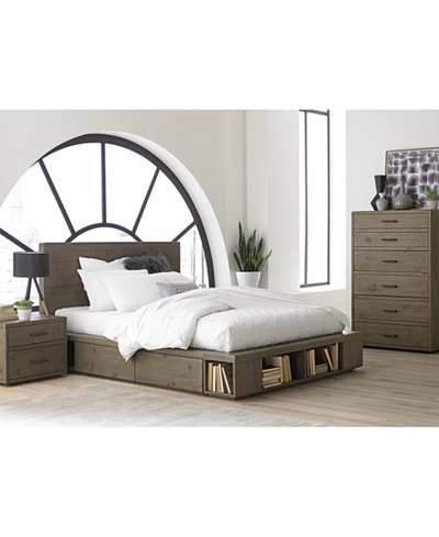 bedroom furniture with storage. Brandon Storage Platform Bedroom Furniture Collection  Created for Macy s