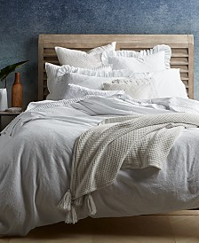 CLOSEOUT! Lucky Brand Ventura Waffle Bedding Collection, Created for Macy's