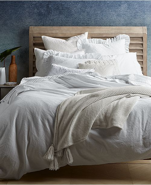 d98053f8596 Lucky Brand CLOSEOUT! Ventura Waffle Bedding Collection