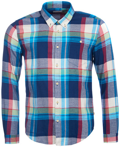 Barbour Men's Leith Plaid Shirt