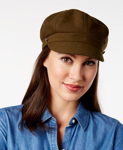August Hats Button Newsboy Cap