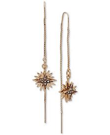 Ivanka Trump Gold-Tone Layered Multi-Star Crystal Threader Earrings