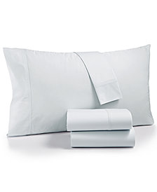 Calvin Klein Parterres Cotton 270-Thread Count 4-Pc. California King Sheet Set