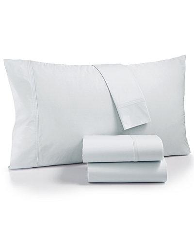 Calvin Klein Parterres Cotton 270-Thread Count 4-Pc. Queen Sheet Set