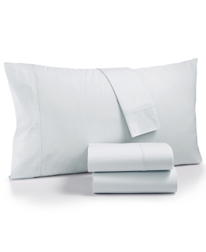 Calvin Klein Parterres Cotton 270-Thread Count 4-Pc. Queen Sheet Set Bedding