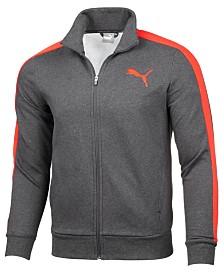 Puma Men's Fleece Core Track Jacket