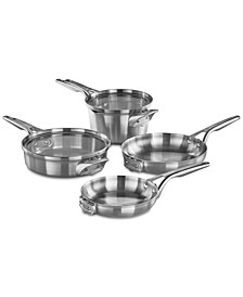 Premier Space-Saving 6-Pc. Stainless Steel Cookware Set