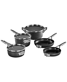 Calphalon Premier Space-Saving 8-Pc. Hard-Anodized Non-Stick Cookware Set