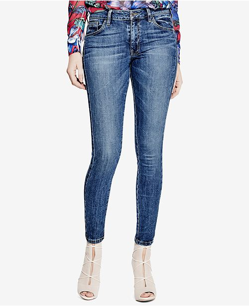 028153ad61ad GUESS Mid-Rise Skinny Jeans & Reviews - Jeans - Women - Macy's