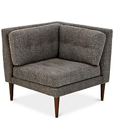 Alexandra Corner Chair, Quick Ship