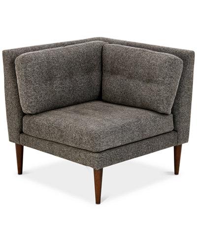 Auburn Corner Chair, Quick Ship