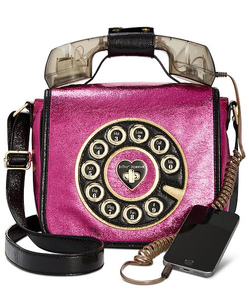 Betsey Johnson Off The Hook Phone Crossbody 8 Reviews Main Image