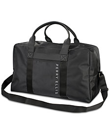 Receive a Complimentary Duffel with any large spray purchase from the Perry Ellis fragrance collection