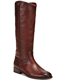 Frye Women's Melissa Button 2 Wide-Calf Tall Boots