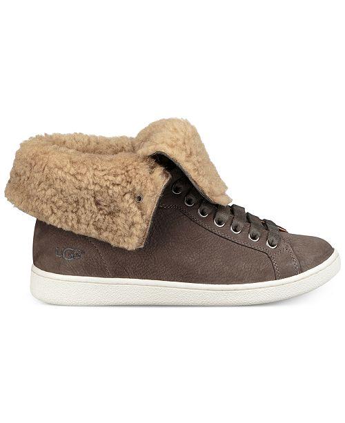 e27af7b1720 UGG® Women's Starlyn High-Top Lace-Up Sneakers & Reviews - Athletic ...