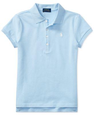 Ralph Lauren Toddler Girls Polo Shirt