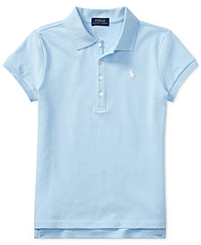 Ralph Lauren Toddler Girls Polo Shirt