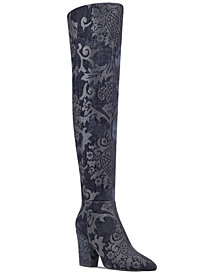 Nine West Siventa Brocade Over-The-Knee Boots