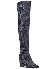 Nine West Siventa Brocade Over-The-Knee Boots
