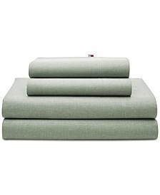 Chambray 2-Pc. King Pillowcase Set