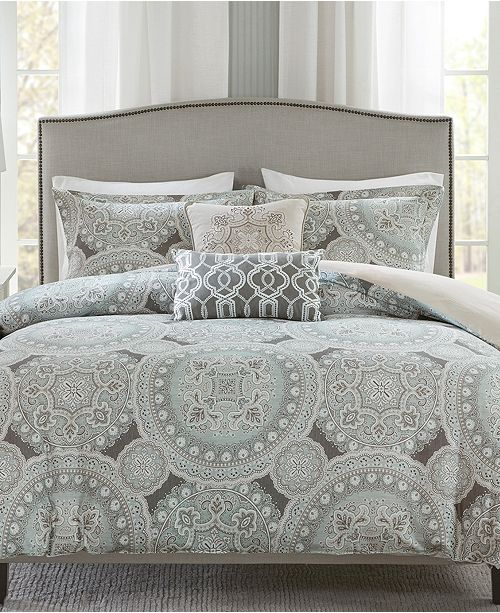 sleep in luxurious style with the beautifully detailed freida bedding collection from harbor house - Harbor House Bedding