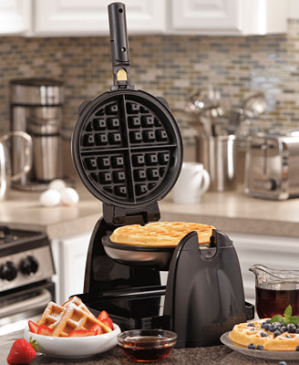 Removable Grid Belgian Waffle Maker by Hamilton Beach