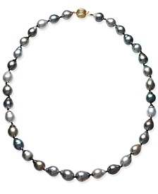 Cultured Tahitian Baroque Pearl (9-11mm) Collar Necklace