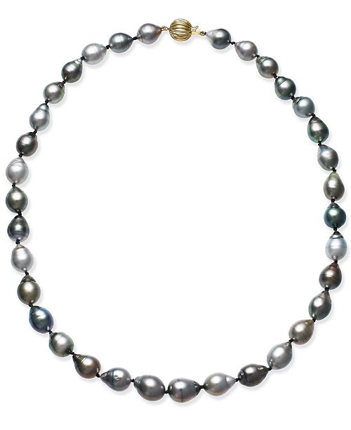 Macy's Cultured Tahitian Baroque Pearl (9-11mm) Collar Necklace