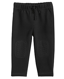 Baby Boys Knee Patch Knit Pants, Created for Macy's