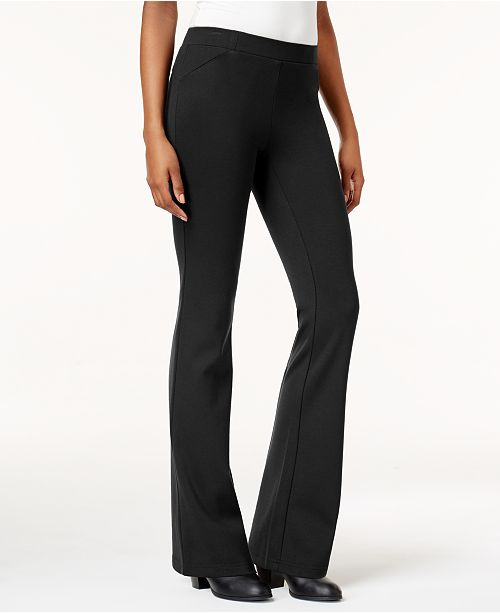Style & Co Bootcut Ponté Pants, Created for Macy's