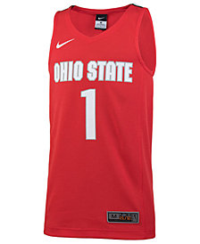Nike #1 Ohio State Buckeyes Replica Basketball Jersey, Big Boys (8-20)